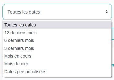 Choix date