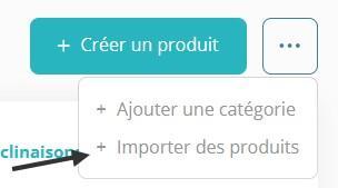 Importer produits wuro