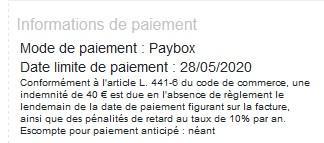 Infos paybox