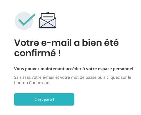 Mail confirme onboarding