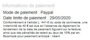 Mode paypal fact