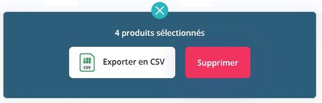 Selection produits
