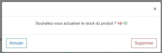 Stock actualise